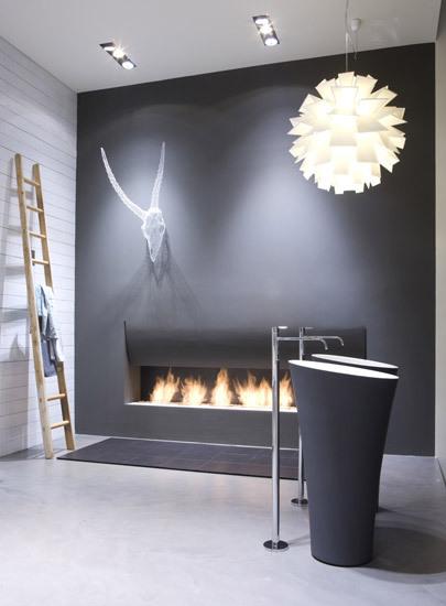 biokominek wn trze pe ne melodii lovter. Black Bedroom Furniture Sets. Home Design Ideas